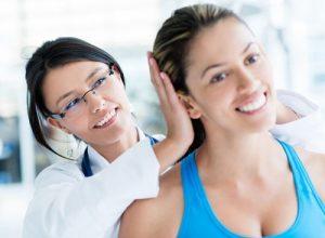 Упражнения для шеи под контролем врача