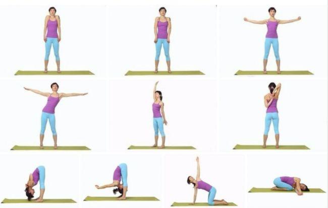 Упражнения йоги для плечевых суставов