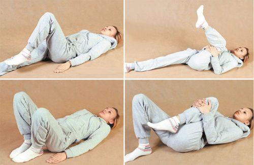 Упражнения лёжа на спине при коксартрозе