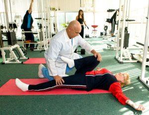 Упражнения под контролем врача