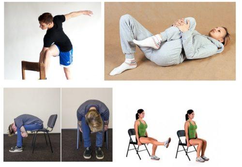 Упражнения при кисте Бейкера