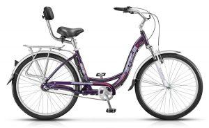 Велосипед со спинкой