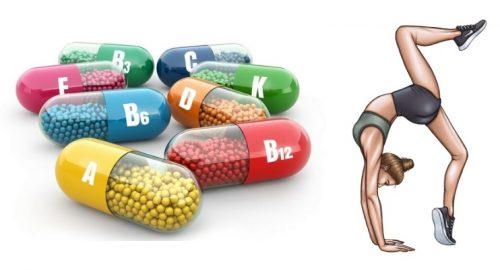 Прием витаминов для суставов
