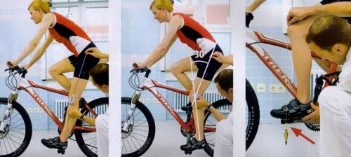 Выбор высоты седла велосипеда