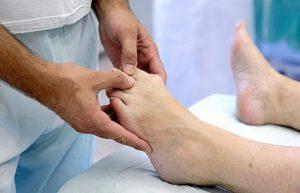 Закрытая репозиция пальца на ноге