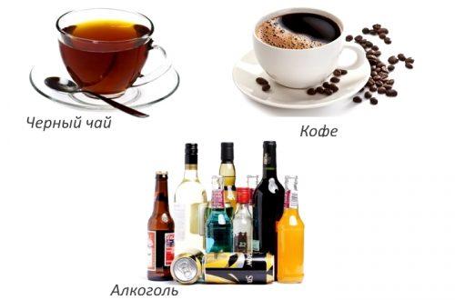 Запрещенные напитки при остеопорозе