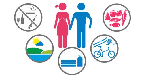 Здоровый образ жизни для профилактики спондилоартрита